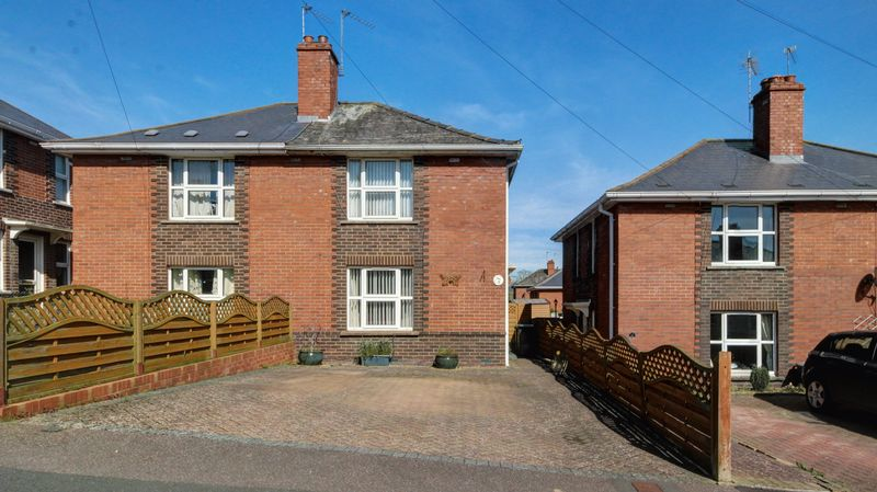 2 Bedrooms Semi Detached House for sale in Lethbridge Road, Exeter